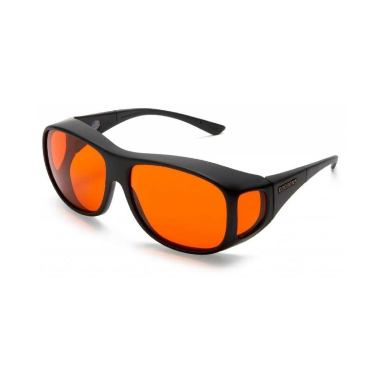 Cocoons overzetbril oranje