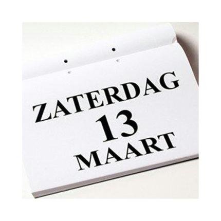 Grootletter dagkalender A4 ST420025