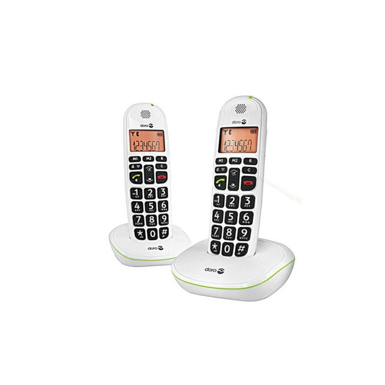 Doro phoneEasy 100w Duoset wit ST550103