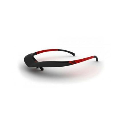 The Brow zonneklep rood / zwart ST404010