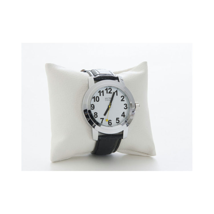 Slechtzienden horloge witte wijzerplaat ST643025