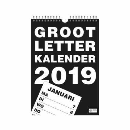 Grootletter Weekkalender A5 type HB ST420061-0