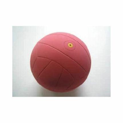 Voetbal rinkel 500 gram rood ST694413
