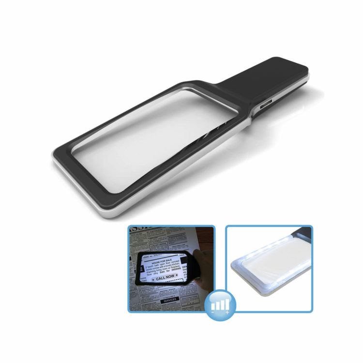 Handloep met LED 3x vergroting ST405004-1339